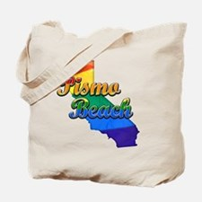 Pismo Beach, California. Gay Pride Tote Bag