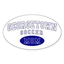 Georgetown Soccer Mom Decal