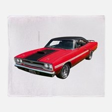 1970 Plymouth GTX Throw Blanket