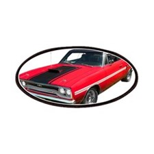 1970 Plymouth GTX Patches