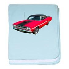 1970 Plymouth GTX baby blanket