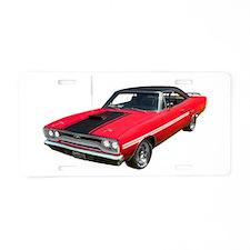 1970 Plymouth GTX Aluminum License Plate