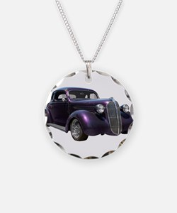 1937 Plymouth P3 Business Cou Necklace