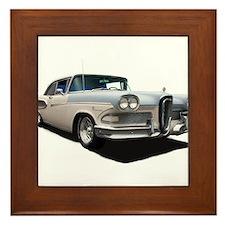 1958 Ford Edsel Framed Tile