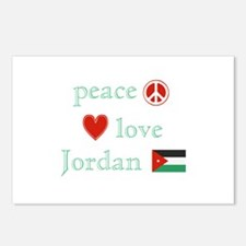 Peace, Love and Jordan Postcards (Package of 8)
