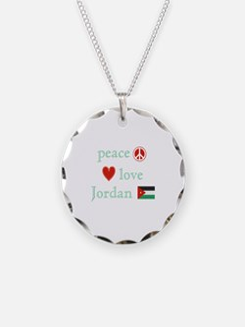 Peace, Love and Jordan Necklace