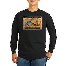 Long Sleeve Dark Old Muskie Beer T-Shirt