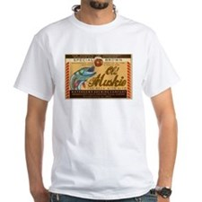 White Old Muskie Beer T-Shirt