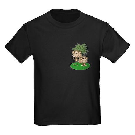 Little Monkeys Kids Dark T-Shirt