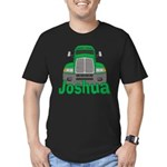 Trucker Joshua Men's Fitted T-Shirt (dark)