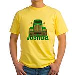 Trucker Joshua Yellow T-Shirt