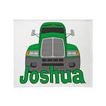 Trucker Joshua Throw Blanket