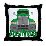 Trucker Joshua Throw Pillow