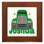 Trucker Joshua Framed Tile
