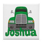Trucker Joshua Tile Coaster
