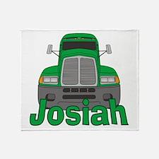 Trucker Josiah Throw Blanket