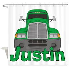 Trucker Justin Shower Curtain