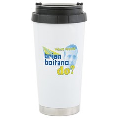 WWBBD? Stainless Steel Travel Mug