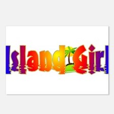 Island Girl Postcards (Package of 8)