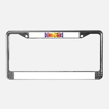 Island Girl License Plate Frame