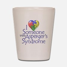 Asperger's Syndrome Shot Glass