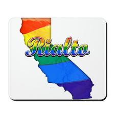Rialto, California. Gay Pride Mousepad
