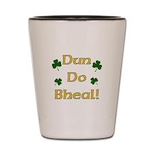 Shut your Mouth! Irish Gaelic Shot Glass
