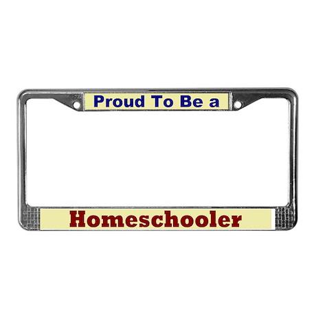 Hug a Homeschooler License Plate Frame