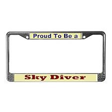 Hug a Sky Diver License Plate Frame
