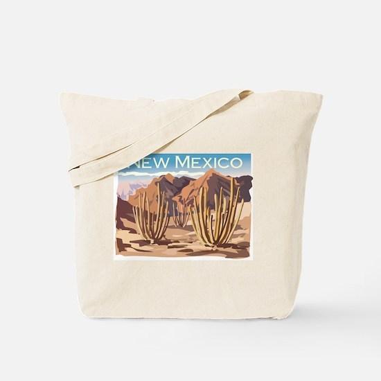 New Mexico Desert Tote Bag