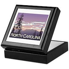 North Carolina Mountains Keepsake Box