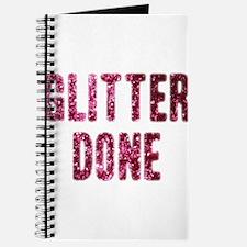 Funny Glitter Journal