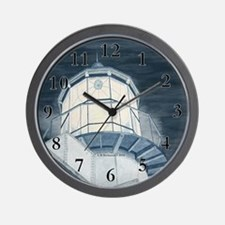 Night Watch Over The Bay Wall Clock
