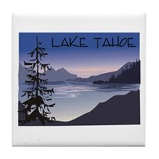 Lake Tahoe Tile Coaster