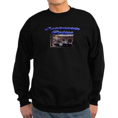 Oceanside Police Car Sweatshirt (dark)