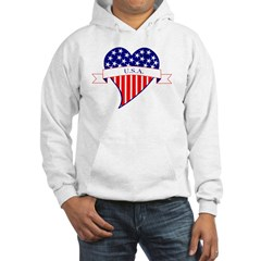 I Love the USA Hoodie