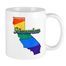 Riverview, California. Gay Pride Mug