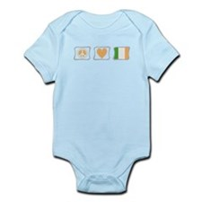 Peace, Love and Ireland Infant Bodysuit