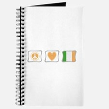 Peace, Love and Ireland Journal