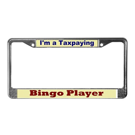 Taxpaying License Plate Frame