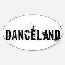 Danceland Sticker (Oval)