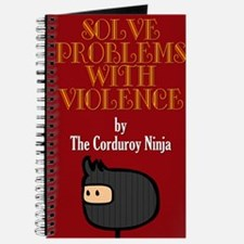 Cute Corduroy ninja Journal