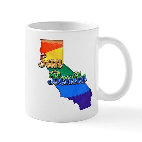 San Benito, California. Gay Pride Mug