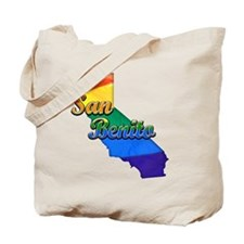 San Benito, California. Gay Pride Tote Bag