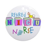NICU Baby Ornament (Round)