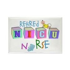 NICU Baby Rectangle Magnet