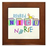 NICU Baby Framed Tile