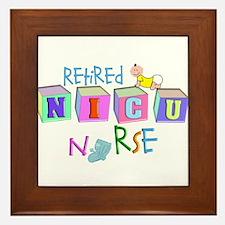 NICU Baby Framed Tile