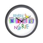 NICU Baby Wall Clock
