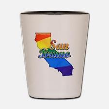 San Bruno, California. Gay Pride Shot Glass